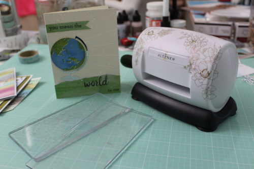 Mini Blossom Die Cutting Machine from Altenew (Review and Demo)
